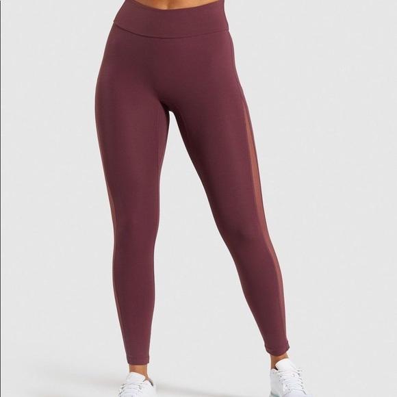 Gymshark Form Leggings - Red Berry